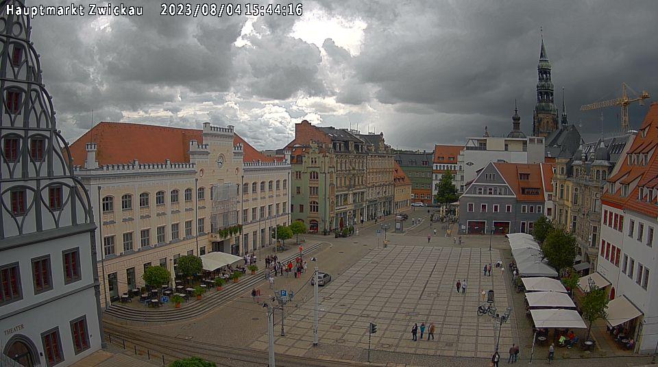 Zwickauer Hauptmarkt Webcam