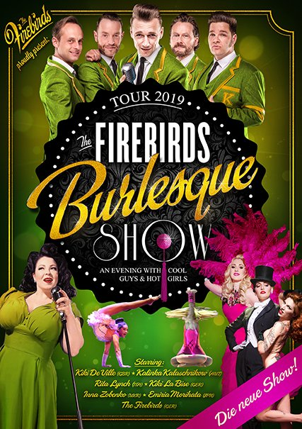 "Bild ""The Firebirds Burlesque Show: An Evening with Cool Guys And Hot Girls"""